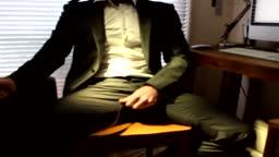 Branlette au bureau