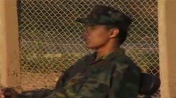 Jeunes soldats latinos